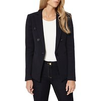 Damsel in a dress Textured Blazer, Navy