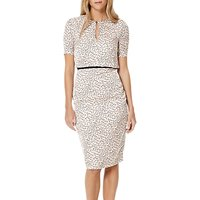 Damsel in a dress Lynx Print Dress, Multi