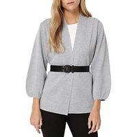 Damsel in a dress Belted Cardigan, Silver Marl