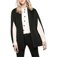 Gerard Darel Gale Wool Coat, Black