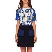 Ted Baker Colour By Numbers Adren Floral Print T-Shirt