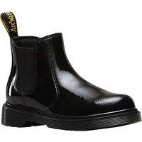 Dr Martens Banzai Chelsea Boots, Black Patent