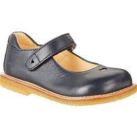 ANGULUS Children's Heart Mary Jane Shoes, Navy