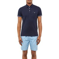 Ted Baker Themiss Polo Shirt, Navy