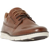 Dune Bachelor Leather Lace-Up Shoes, Tan