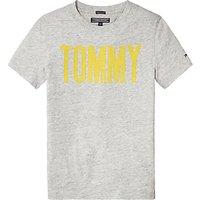 Tommy Hilfiger Boys Ame T-Shirt, Grey