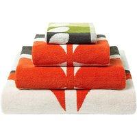 Orla Kiely Large Stem Towels, Tomato