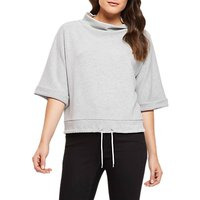 Jaeger Drawstring Sweater, Grey