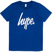 Hype Boys Big Logo Short Sleeve T-Shirt, Navy