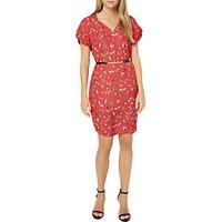 Damsel in a dress Haversham Print Dress, Red