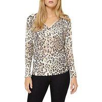 Damsel in a dress Leopard Print Top, Multi