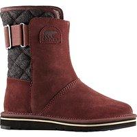 Sorel Newbie Short Womens Snow Boots, Red