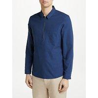 Kin Half Zip Oxford Shirt, Blue