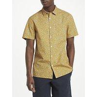 Kin Short Sleeve Camo Shirt, Orange
