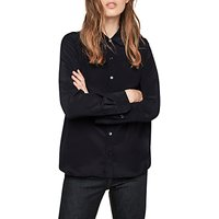 Gerard Darel Brian Silk Blouse, Navy