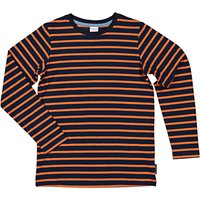 Polarn O. Pyret Childrens Striped Top, Blue