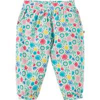 Frugi Organic Jamboree Jungle Print Hattie Harem Trousers, Multi