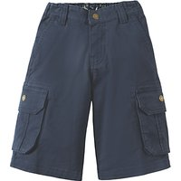Frugi Organic Boys' Explorer Shorts, Navy