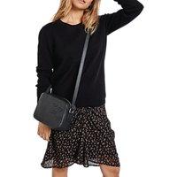 hush Florence Skirt, Black/Brown