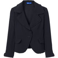 Winser London Tailored Fitted Jacket Style Coat, Midnight