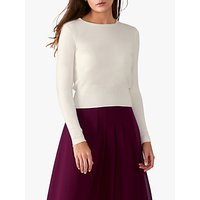 Pure Collection Cropped Cashmere Sweater