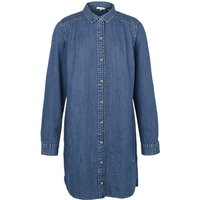Fat Face Isla Denim Shirt Dress, Denim