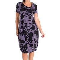 Chesca Floral Print Dress, Hyacinth