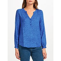 Pyrus Lizzie Silk Blouse, Blue