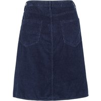 Fat Face Darcy Cord A Line Skirt, Navy