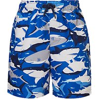 John Lewis & Partners Boys' Shark Swim Shorts