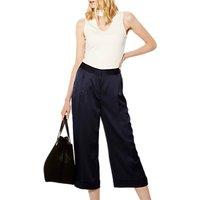Karen Millen Wide Leg Trousers, Navy