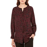 Gerard Darel Buis Silk Blouse, Black