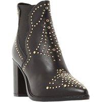 Steve Madden Himmel Studded Block Heeled Ankle Boots, Black