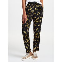 Collection WEEKEND by John Lewis Artist Brush Stroke Floral Print Trousers