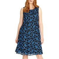 Studio 8 Natalie Dress, Blue/Black