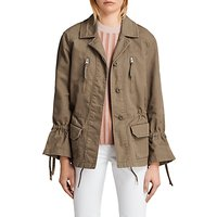 AllSaints Amira Jacket, Dust Olive Green