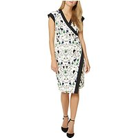Damsel in a dress Key Print Dress, Black