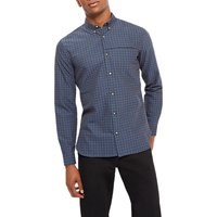 Jaeger Check Shirt, Navy
