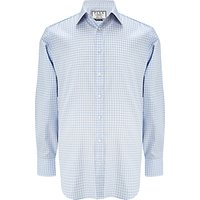 Thomas Pink Ted Check Classic Fit Shirt, Pale Blue/White