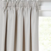 John Lewis & Partners Sloane Pair Lined Pencil Pleat Curtains