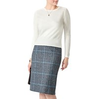 Pure Collection Wool Pencil Skirt