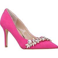 Carvela Kracker Jewelled Stiletto Heeled Court Shoes