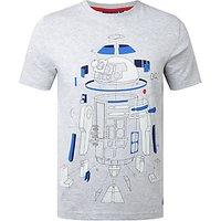 Star Wars Deconstructed R2-D2 T-Shirt, Grey