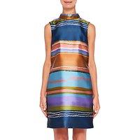 Ted Baker Ivara Striped Dress, Navy