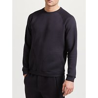 Hamilton and Hare Downtime Crew Sweatshirt, Storm Blue