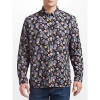 JOHN LEWIS & Co. Japanese Floral Shirt, Navy