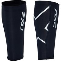 2xu Compression Calf Guards, Black