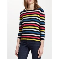 Collection WEEKEND by John Lewis Pique Stripe Jumper, Multi