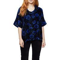 East Anna Top, Indigo/Blue