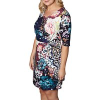Yumi Curves Floral Print Dress, Multi